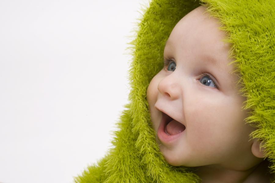 Bebé Muito Feliz