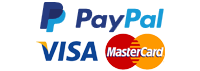 PayPal Visa Mastercard