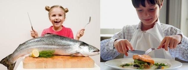 Alimentação das crianças