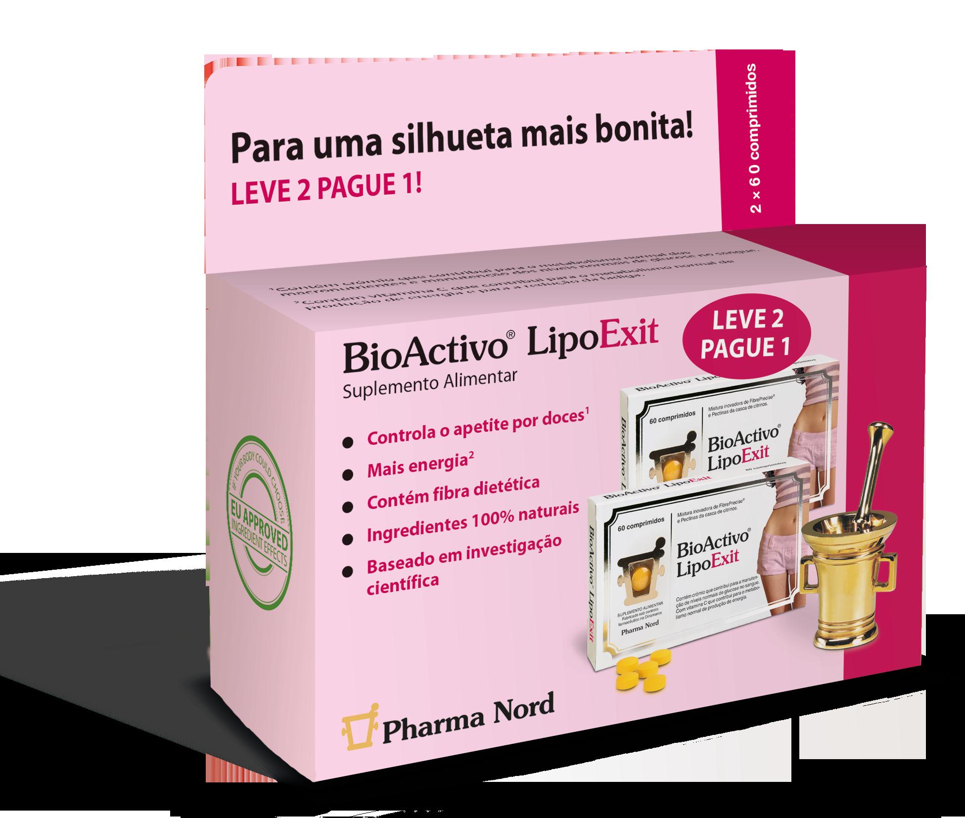 Pack 2 BioActivo LipoExit