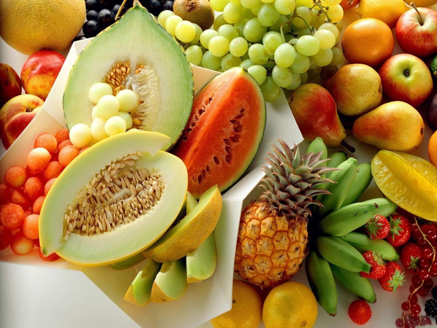 Alimentação saudável de Frutas